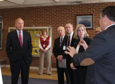 Franchot Visits Leonardtown Middle School Southern