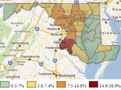 Metropolitan Sprawl Puts Urban In Suburban Southern Maryland