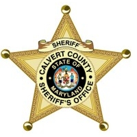 Calvert Co. Sheriff badge logo