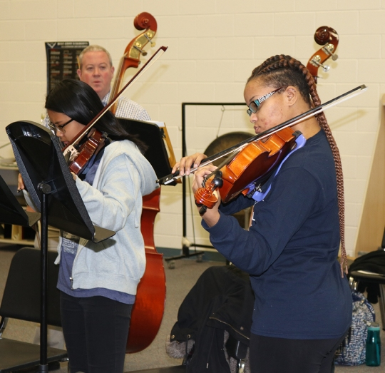 Lackey Band, Orchestra Students Prep for Festival at ...