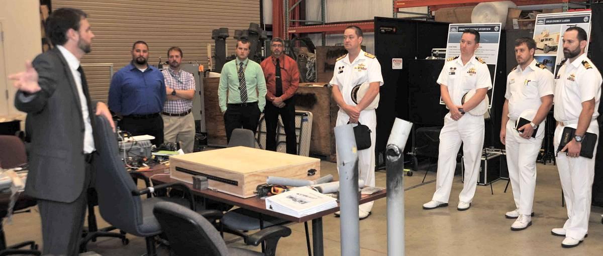australia navy delegation visits nswc dahlgren division in