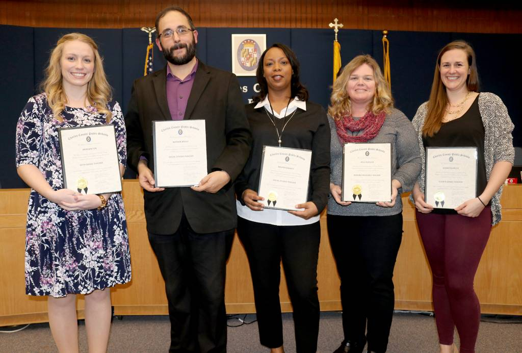 Charles Co Board Of Ed Honors Staff For Commitment To