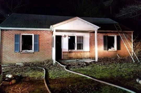 Fatal Fire In Waldorf Claims Man And Dog Southern